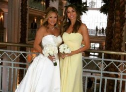 Sofia Vergara Is Radiant As A Bridesmaid At Friend's Wedding