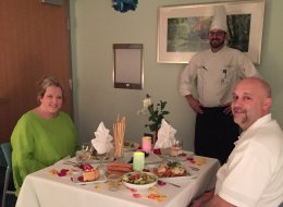 Hospital Surprises Parents Of Pediatric ICU Patient With Special Anniversary Dinner