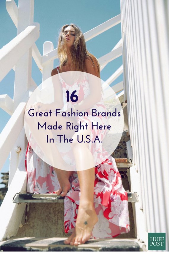 16 Fashion Brands That Are Made In America And Totally