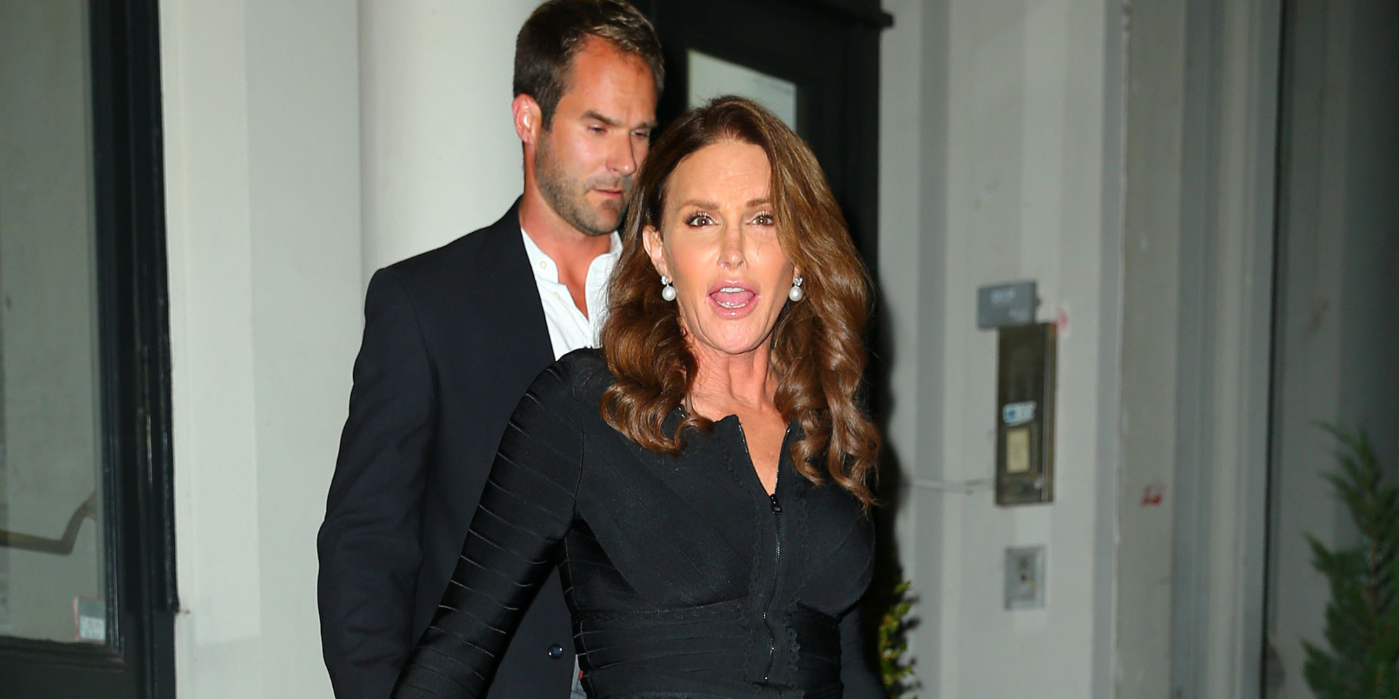 Caitlyn Jenner Takes A Cue From The Kardashians, Steps Out ... Daily News Bruce Jenner In A Dress Photos