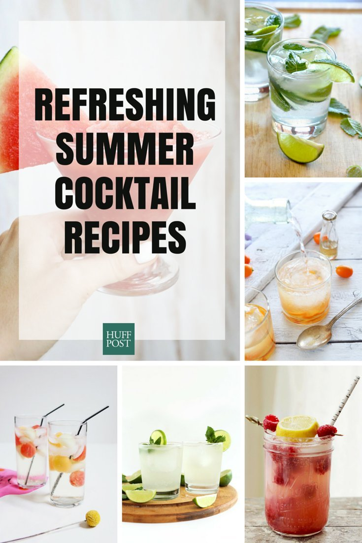 30 Summer Cocktail Recipes That 39 Ll Keep You Fully