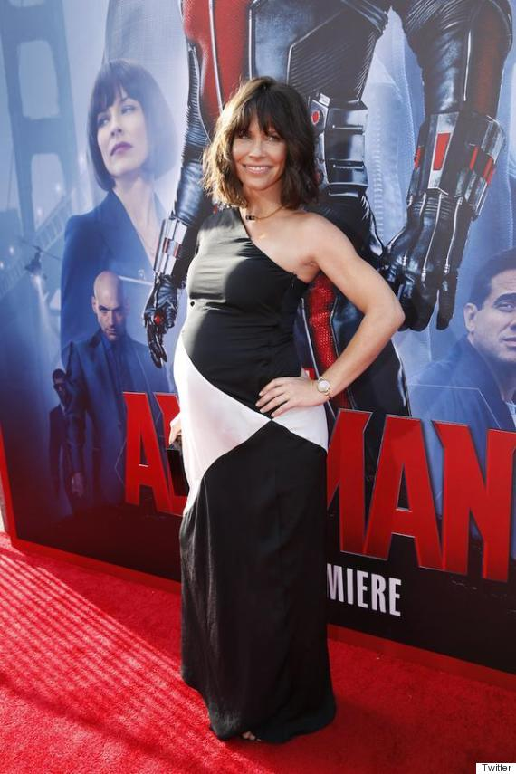 evangeline lilly pregnant