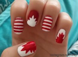 15 manucures pour la fête du Canada