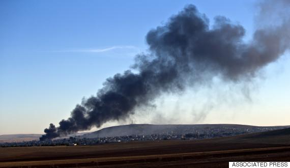 kobani airstrike