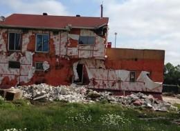 Le bunker des Hells Angels de Trois-Rivières démoli (VIDÉOS)