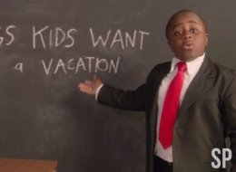 Kid President Has An Important Message For Parents Planning Family Vacations