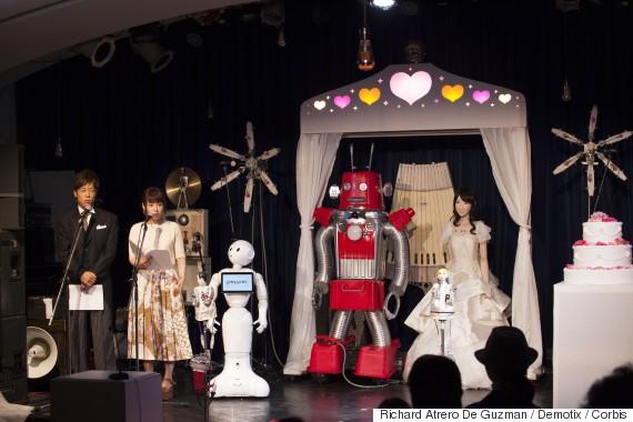 robot wedding 2