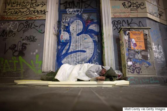 greece homeless