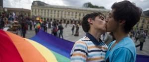 Gay Men Kissing