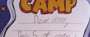 CAMP LETTERS
