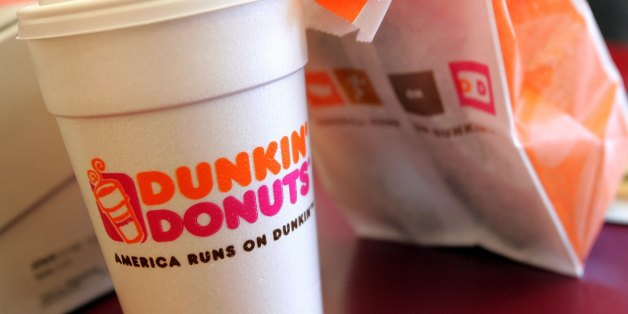 Styrofoam Cup Dunkin : Dunkin donuts is phasing out styrofoam cups huffpost