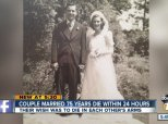 Childhood Sweethearts Married 75 Years Die In Each Other's Arms