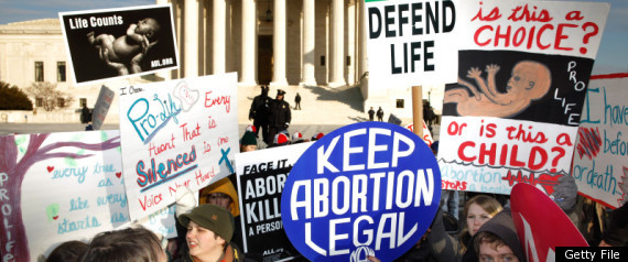 ANTIABORTION LAWS STATES
