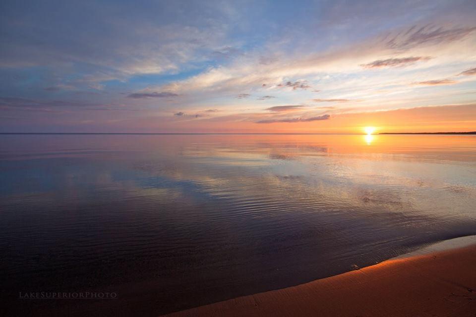 lake superior sun