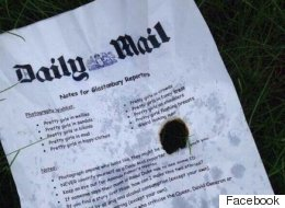 'Daily Mail's Notes' For Glastonbury Reporters Found