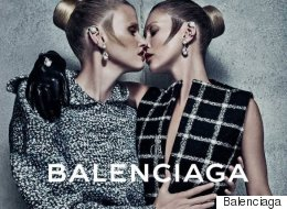 Kate Moss And Lara Stone Nail First Balenciaga Ad Campaign Together