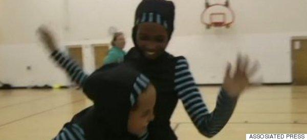 Muslim Schoolgirls Designed Their Own Amazing Basketball Uniforms