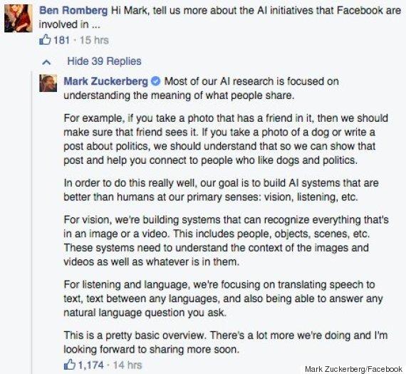mark zuckerberg facebook stephen hawking
