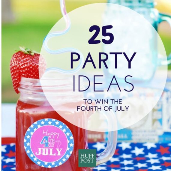 25 party ideas to win the fourth of july