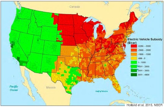 here s where electric vehicles actually cause more pollution than