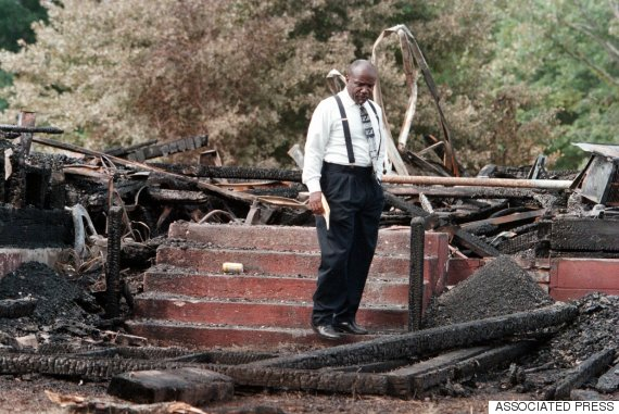 black church arson