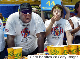 One Very Large Man's 18-Year Quest For Hot Dog Eating Glory