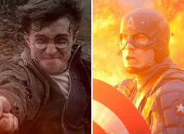Captain America Harry Potter