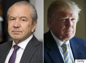 Donald Trump Lord Sugar The Apprentice