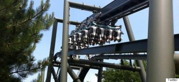 Alton Towers Rollercoaster Fails Leaving Fans Stranded Upside Down On Hottest Day Of The Year