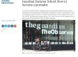 Students Are Angry The Guardian Is Charging £559 For Its Summer School - While News UK's Is Free