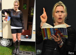 Kate Winslet In Wellies And Woollies At Port Eliot