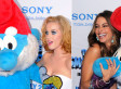 Katy Perry Smurf Dress: Sofia Vergara, Singer Sexy Up 'The Smurfs' Premiere (PHOTOS)