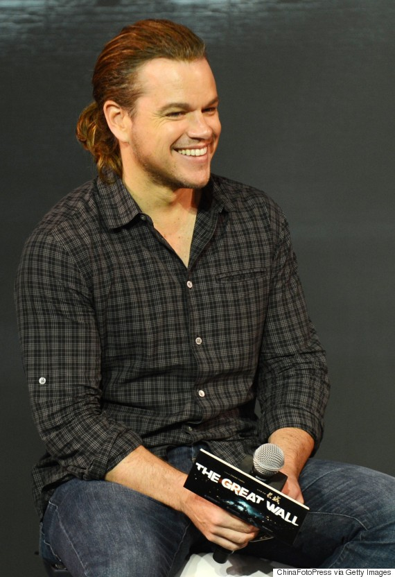 Matt Damon Has A Ponytail So Your Summer Just Got Better