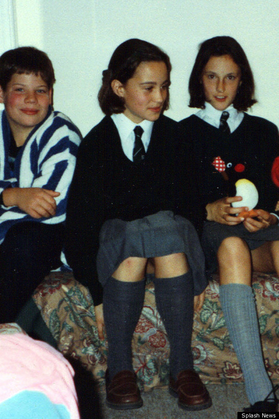 Pippa Middleton Schoolgirl Pic Surfaces Photo  Huffpost-3313