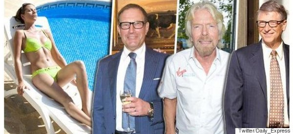 The Daily Express Has Some Embarrisingly Sexist Ideas About What Makes A Billionaire