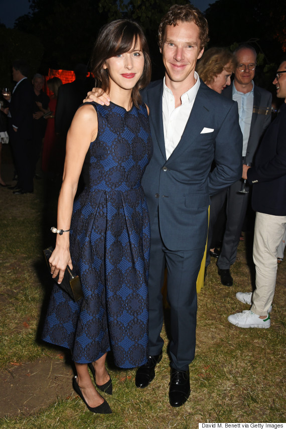 benedict cumberbatch sophie hunter serpentine