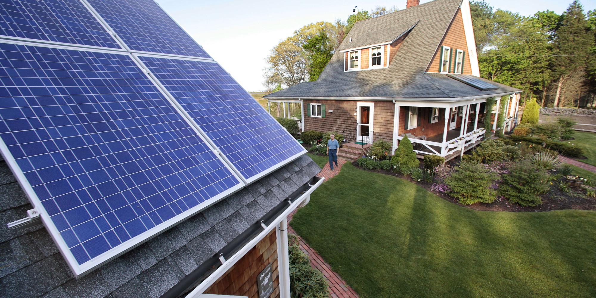 Warm Weather Boosts Solar Power Huffpost Uk
