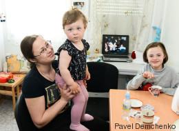 Ucrania: el desplazamiento complica la situación de los niños con discapacidad