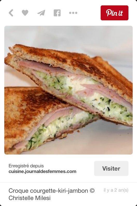croque monsieur recette