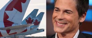 ROB LOWE AIR CANADA