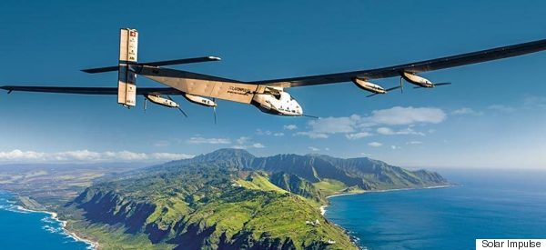 Revolutionary Airplane Crosses The Ocean Without A Drop Of Fuel