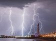 Spectacular Pictures Show Lightning Strikes Across UK
