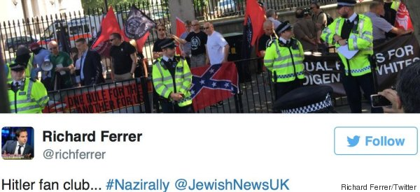 Neo-Nazi Demonstrators Just Met Their Match At Central London Protest