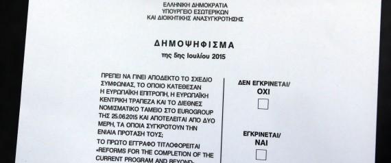 GREECE REFERENDUM PAPER