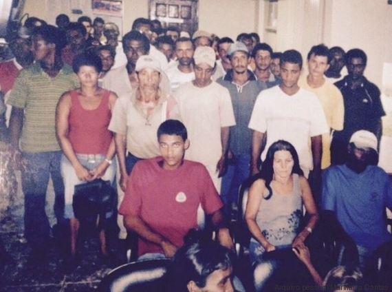 grupo de escravos
