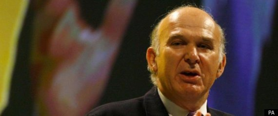 VINCE CABLE BANKS