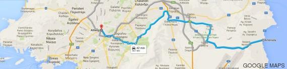 mapa artemis