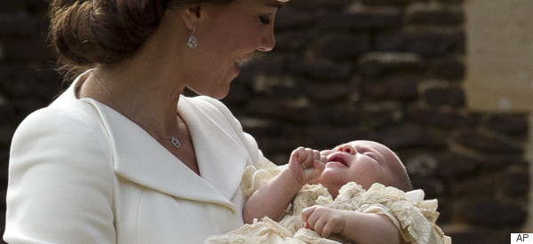 William And Kate Celebrate Princess Charlotte's Christening