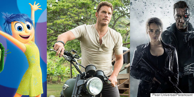 'Inside Out' And 'Jurassic World' Terminated The 'Terminator' At The Box Office