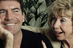 Simon Cowell pictured with his mother | Getty